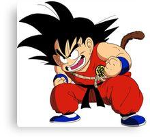 Dragonball - Goku Canvas Print