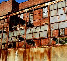 Rusty Building in Cincinnati by Phil Campus