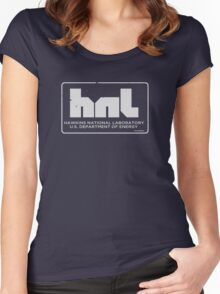 Hawkins National Lab : Stranger Things Women's Fitted Scoop T-Shirt