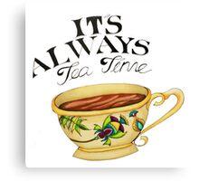 Teatime! Canvas Print
