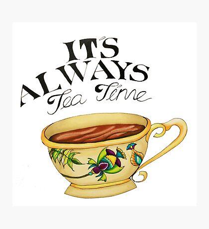 Teatime! Photographic Print