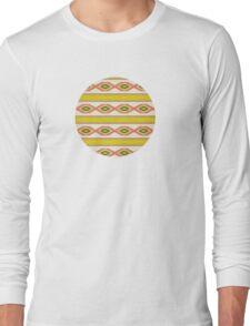 Navajo traditional pattern Long Sleeve T-Shirt