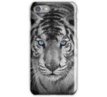 Blue Eyed Bengal Tiger iPhone Case/Skin