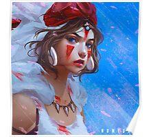 Princess Mononoke – Beautiful Poster