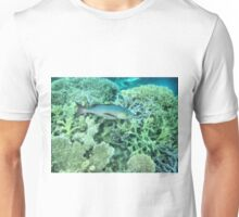 Fish roaming the reef Unisex T-Shirt