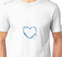 An empty heart, overflowing with emotions Unisex T-Shirt