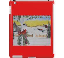 Christmas Sleigh Ride iPad Case/Skin