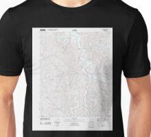 USGS TOPO Map Arkansas AR Osage 20110727 TM Unisex T-Shirt
