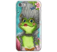 Marie Frogtoinette iPhone Case/Skin