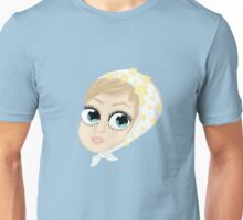 Twiggy with flower headband Unisex T-Shirt