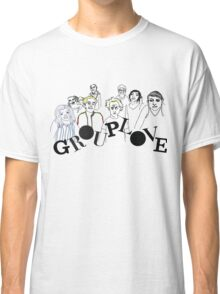Grouplove  - Boarderlines and Aliens Classic T-Shirt