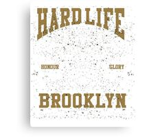 Hard-Life Canvas Print