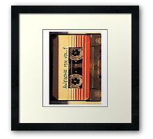 Awesome Mix Vol.1 Framed Print