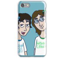 working classical heroes Paul McCartney & John Lennon iPhone Case/Skin
