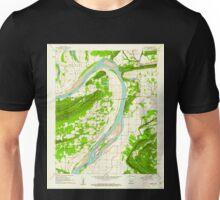 USGS TOPO Map Arkansas AR Gleason 258575 1961 24000 Unisex T-Shirt