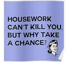Housework Can't Kill You Poster