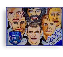 Blues Champions Origin 2014  Canvas Print