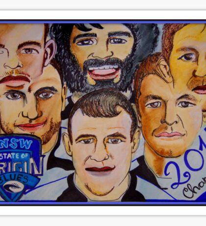 Blues Champions Origin 2014  Sticker