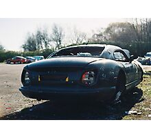 TVR Shell Baking in The Sun Photographic Print