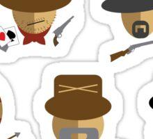 The Minignificent Seven Sticker