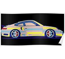 Neon Carrera Dream Poster