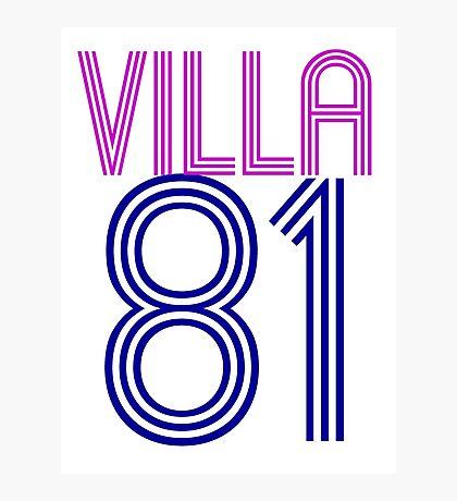 Aston Villa Photographic Print