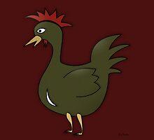 Green Chicken by YoPedro