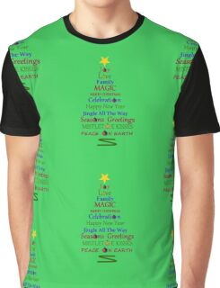 Holiday Tree - Green Graphic T-Shirt