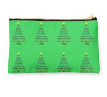 Holiday Tree - Green Studio Pouch