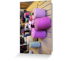 Bobbins Greeting Card
