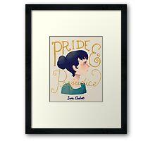 Pride and Prejudice Framed Print