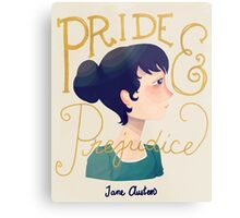 Pride and Prejudice Metal Print