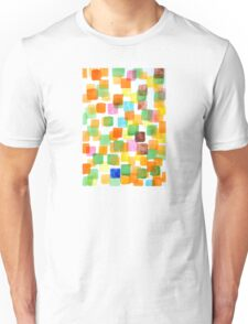 First Squares Pattern Unisex T-Shirt
