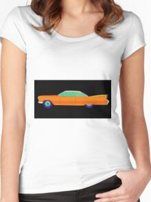 Cadillac Oldtimer Vintage Women's Fitted Scoop T-Shirt