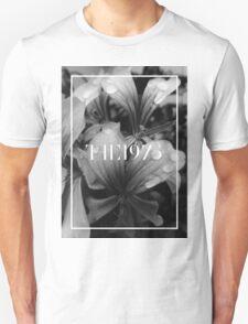b&w flowers the 1975 Unisex T-Shirt