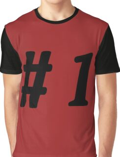 Number 1 #1  Graphic T-Shirt
