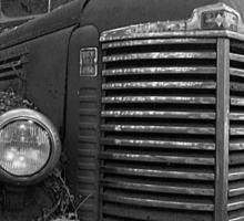 Abandoned Fire Truck Sticker
