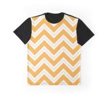 Yellow Chevron Graphic T-Shirt