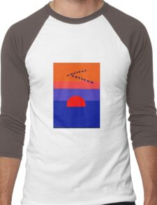 Fly Into The Sunset Men's Baseball ¾ T-Shirt