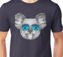 Koala with mirror sunglasses Unisex T-Shirt