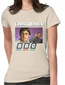Louis Theroux Print Womens Fitted T-Shirt