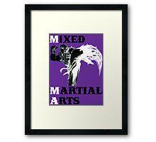 Ken Masters MMA Framed Print