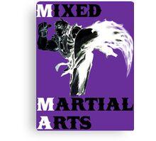 Ken Masters MMA Canvas Print