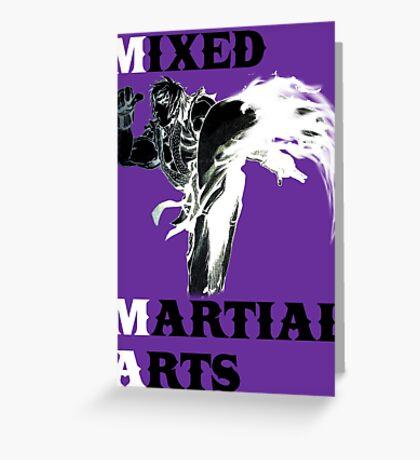 Ken Masters MMA Greeting Card