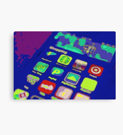 It's an App World Canvas Print