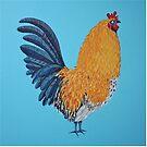 Cock-a-doodle-doo ! by Adam Regester