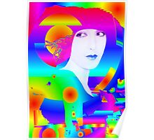 Abstract Color Dream Poster