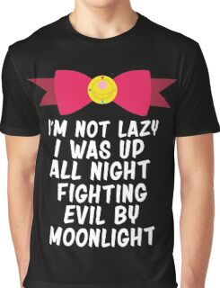 Fighting Evil By Moonlight Graphic T-Shirt