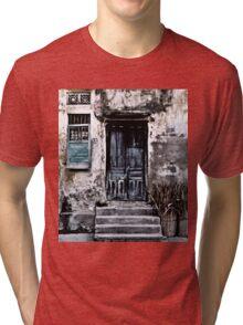 VIETNAMESE FACADE Tri-blend T-Shirt