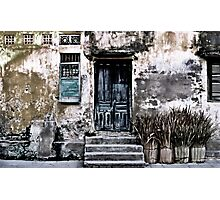 VIETNAMESE FACADE Photographic Print